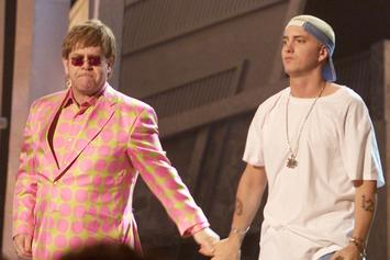 "Eminem Talks ""Revival,"" Donald Trump's Actions & More With Elton John"