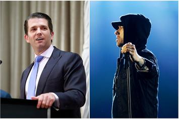 "Donald Trump Jr. Mocks Eminem For Preparing ""Heavily"" To Diss Trump"