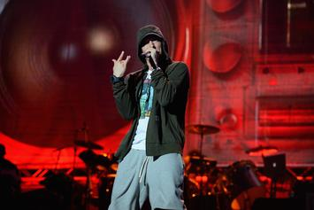 """Eminem Teases Upcoming Video For """"Walk On Water"""""""