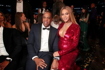 Beyonce & Jay Z Do The Electric Slide At Family Gathering