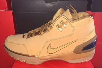 LeBron's Nikes From 2004 Rookie Challenge To Release In February