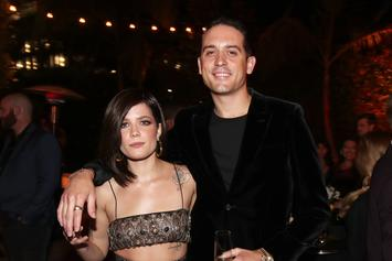 "G-Eazy's Girlfriend Halsey Caught Snorting ""Unknown Substance"""