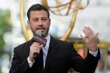 "Jimmy Kimmel Admits Kanye West Twitter Feud Made Him ""So Happy"""