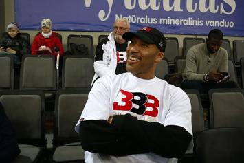 "LaVar Ball Files Trademark For ""Junior Basketball Association"""