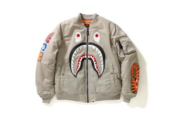 BAPE Readies Limited Edition Shark MA-1 Flight Jackets