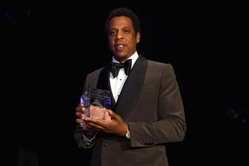 Jay-Z Receives Grammy Salute To Industry Icons Award