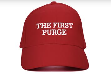 """The First Purge"" Trailer Mocks Donald Trump's ""Make America Great Again"" Slogan"