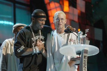 """50 Cent Tributes Eminem On Anniversary Of """"Get Rich Or Die Tryin"""""""
