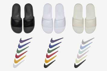 Nike Unveils Customizable Benassi Slides