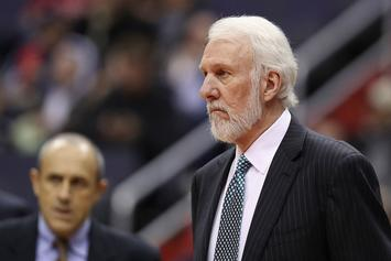 "Popovich Discussing Black History Month: ""We Live In A Racist Country"""