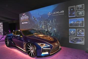 """""""Black Panther"""" & Lexus Link Up For Exclusive LC 500 Model"""
