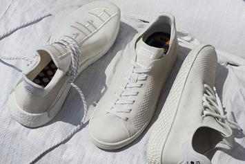 """Pharrell x Adidas """"Blank Canvas"""" Collection To Release This Week"""