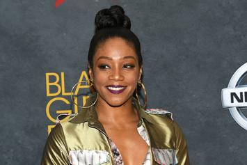 Tiffany Haddish Cried While Meeting Oprah On 'The Ellen Show'