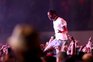 "Travis Scott: ""My Album Is Coming Out In A Week"""