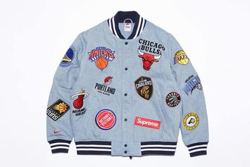 Supreme x Nike x NBA Collection To Release Online Tomorrow