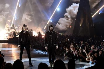 """Watch Eminem and Kehlani Perform """"Nowhere Fast"""" at iHeartRadio Music Awards"""
