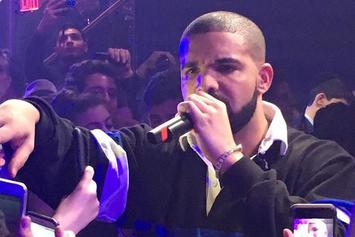"Watch Drake Perform ""Hotline Bling"" & More At New York Bat Mitzvah"