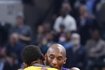 """Kobe Bryant Gifts Sneakers To Paul George After George Calls Him """"Old"""""""