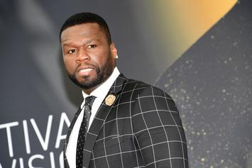"""50 Cent Had The Crowd Chanting """"Fuck Meek Mill"""" At His NYC Show"""