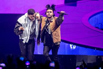 """The Weeknd Shuts Drake's """"Hotline Bling"""" Out Of The No. 1 Spot For Another Week"""
