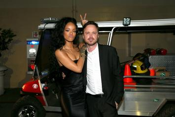 Aaron Paul Recalls How Excited Drake & Rihanna Were To Meet Him