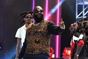 Rick Ross Performs For First Time Since Hospitalization