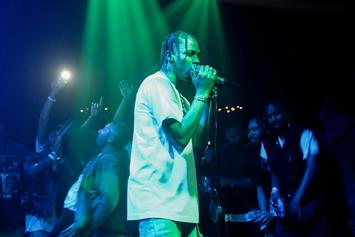 "Travi$ Scott Changes Up ""3500"" Lyrics To Reference Rihanna"