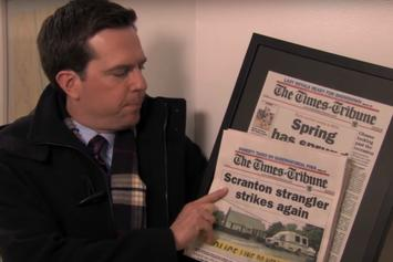 """The Office"" Revival Rumours Spurred By ""Making A Strangler"" Parody Video"