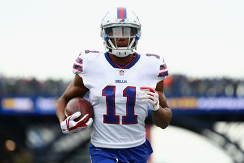 Footage Surfaces Of Bills WR Zay Jones Involved In Nude, Bloody Arrest