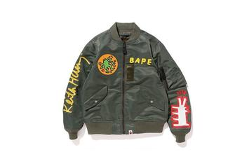 BAPE Utilizes Keith Haring Designs For Limited Edition Spring/Summer 2018 Capsule