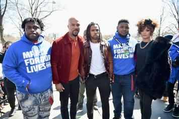 Watch Vic Mensa & Common's Performance At MarchForOurLives In DC