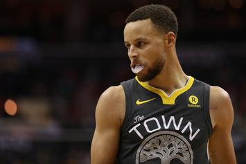 Golden State Warriors Expect Steph Curry To Miss First Round