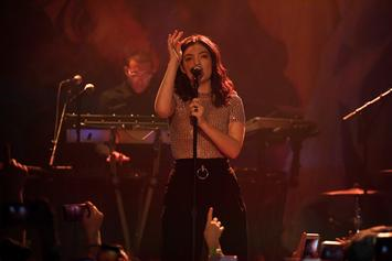 """Lorde Covers Drake's """"Shot For Me"""" Live In Concert"""