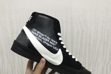 Three New Off-White x Nike Blazer Collabs Revealed