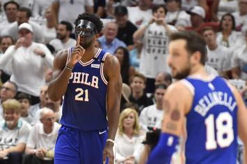 "Sixers' Joel Embiid To Miami Heat: ""They Can't Guard Me"""