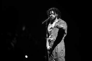 """J. Cole's """"KOD"""" Title Track Reportedly Breaks Spotify Opening Day Record"""