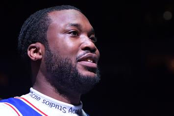 Meek Mill & Lil Uzi Vert Spotted Together At 76ers Game