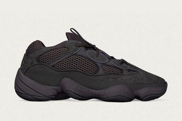 "Adidas Yeezy 500 ""Utility Black"" Release Date Announced"
