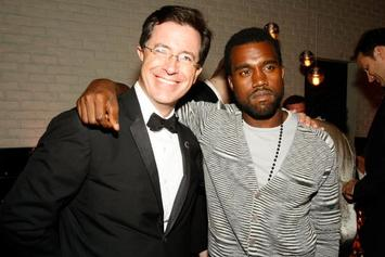 "Stephen Colbert On Kanye's Trump Tweets: ""Put The Phone Down"""