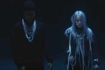 """Billie Eilish & Khalid Are Trapped In A Glass Box For Their """"Lovely"""" Video"""