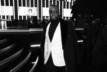 Diddy Shows Off Massive New Back Tattoo