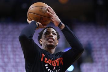 Cavs Fining Players For Biting On DeMar DeRozan's Pump Fake
