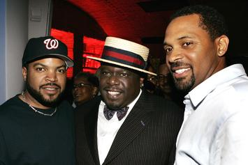 """Ice Cube, Mike Epps, & John Witherspoon Spotted Filming New """"Friday"""" Movie"""