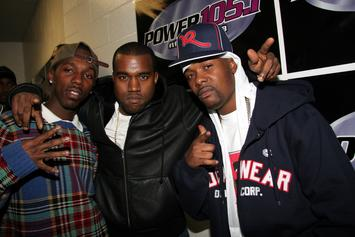 Memphis Bleek Details Falling Out With Kanye West