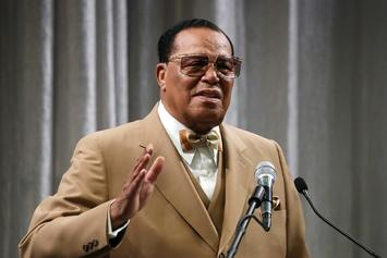 """Louis Farrakhan """"Proud"""" Of Jay Z & Jay Electronica For Representing Five Percent Nation"""