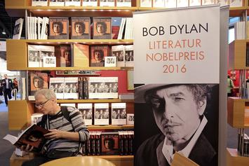 Bob Dylan Awarded 2016 Nobel Prize In Literature