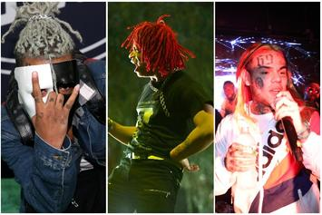XXXTentacion Weighs In On Trippie Redd & 6ix9ine's Ongoing Feud