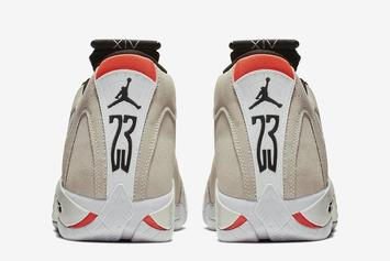 "Air Jordan XIV ""Desert Sand"" Launches Today: Purchase Links"