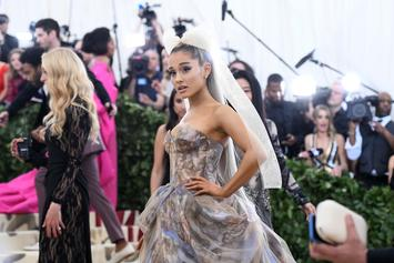 """Ariana Grande & The Roots Perform """"No Tears Left To Cry"""" With Nintendo Labo Gear"""