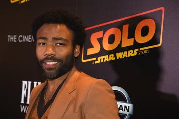 Donald Glover Spotted In NYC With Girlfriend & Infant Son